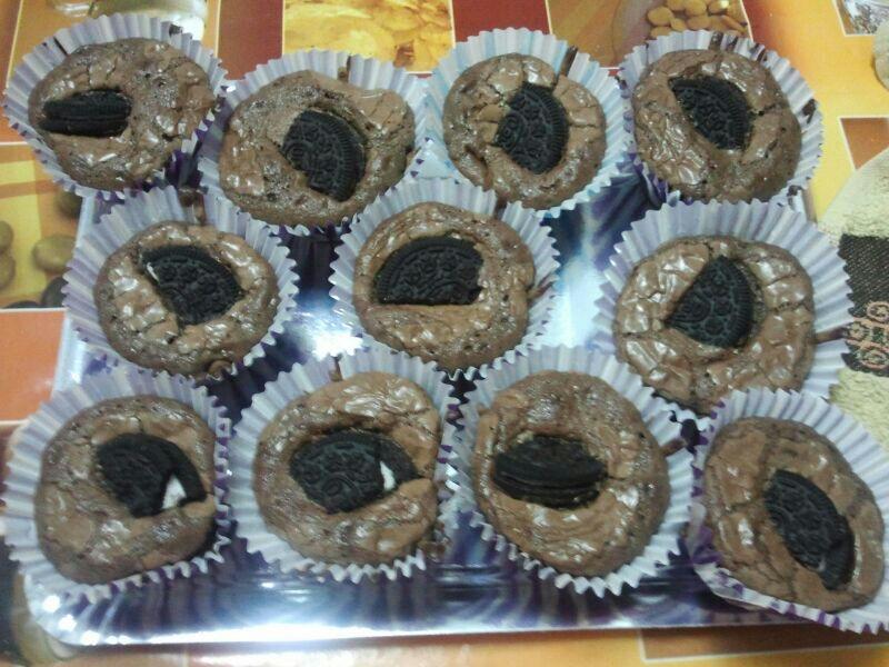 Presentación de la receta de Muffins