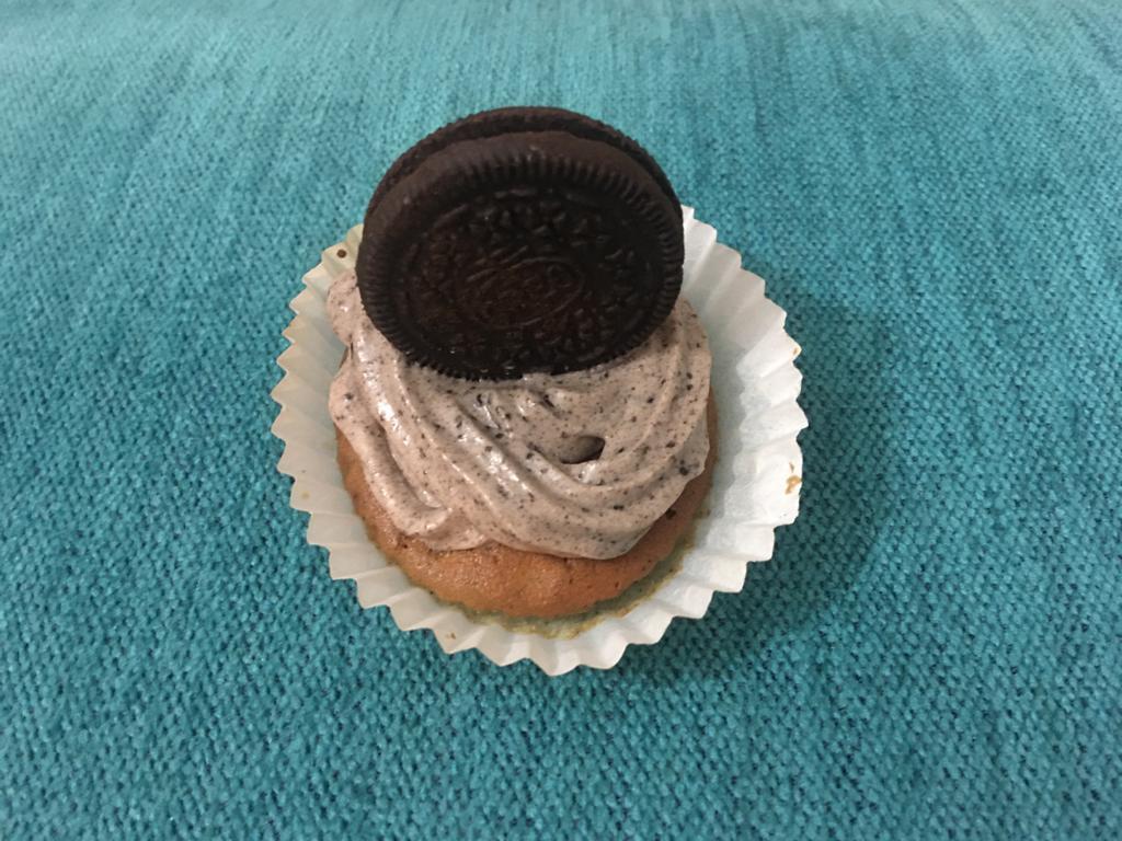 Cupcakes oreo y vainilla