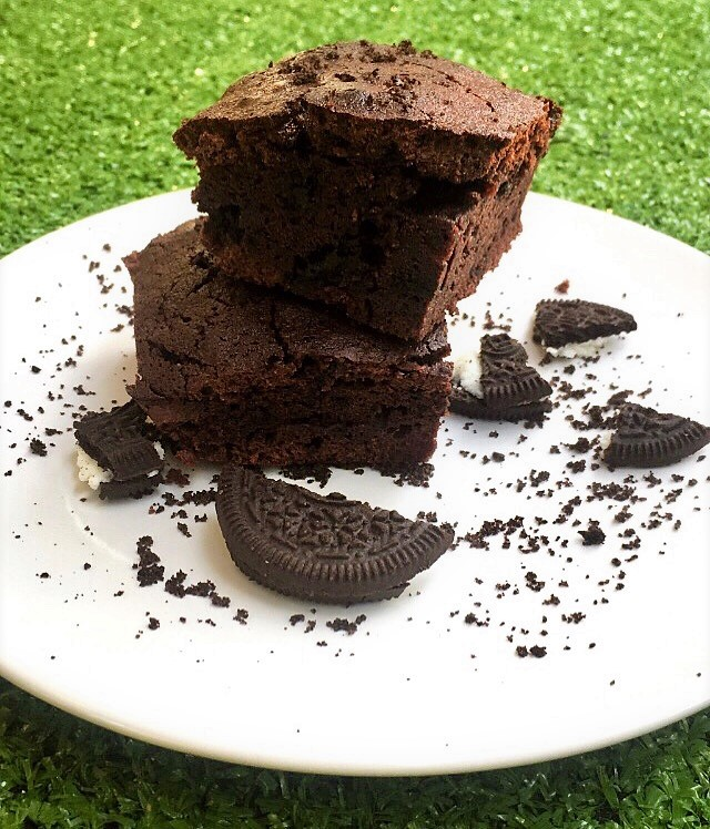 Brownie de Oreo del rincón