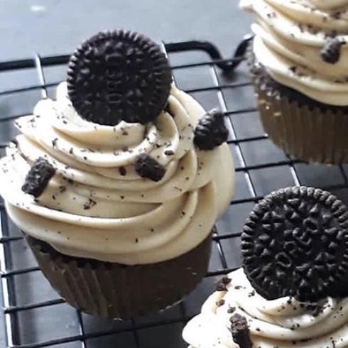 Cupcake oreo sin buttercream