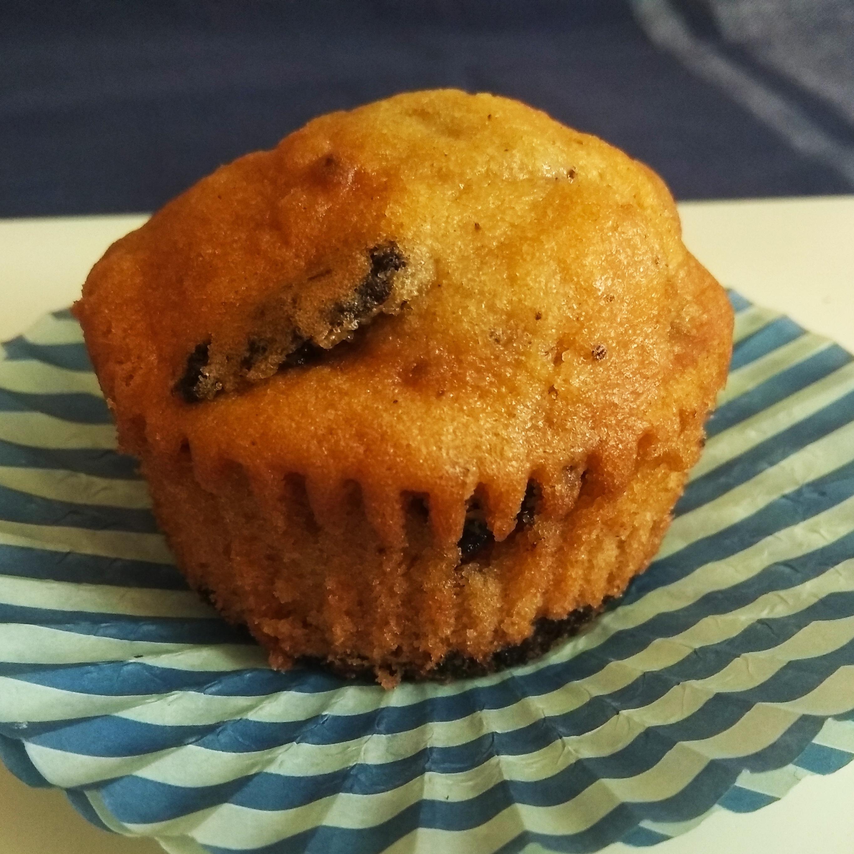 Muffins de vainilla y oreo
